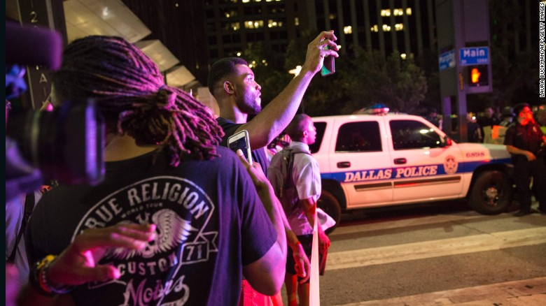 Shooting at Dallas protest in 60 seconds
