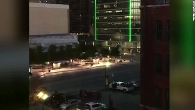 Gunshots ring out in Dallas, officers killed