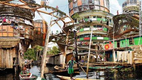 Lagos 2050: Shanty megastructures?