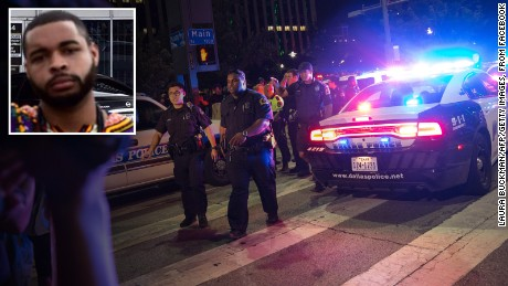 Dallas protest shattered by ambush shooting
