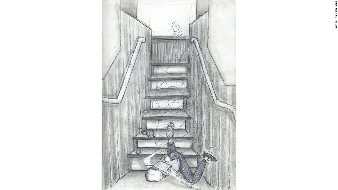 """""""Fear of... Falling Down the Stairs"""", September 17, 1999."""