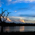 Sunset over the Kwando River