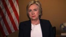 HILLARY CLINTON INTERVIEW     Hillary Clinton Round robin interviews