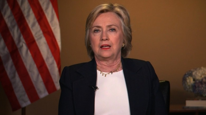 Hillary Clinton: Shooting violence a 'call to action'