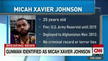 Dallas gunman is former U.S. Army reservist
