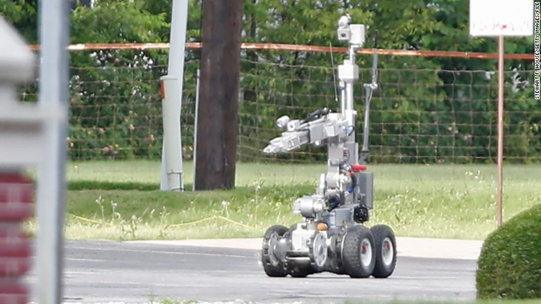 Police used robot to kill shooter
