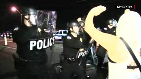 shootings protests in arizona police clash pepper spray_00001214