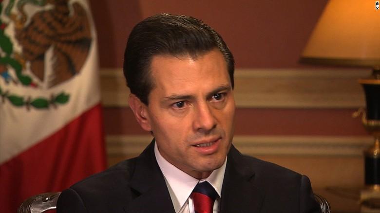 mexican president enrique pena nieto trump wall sot gps_00010305