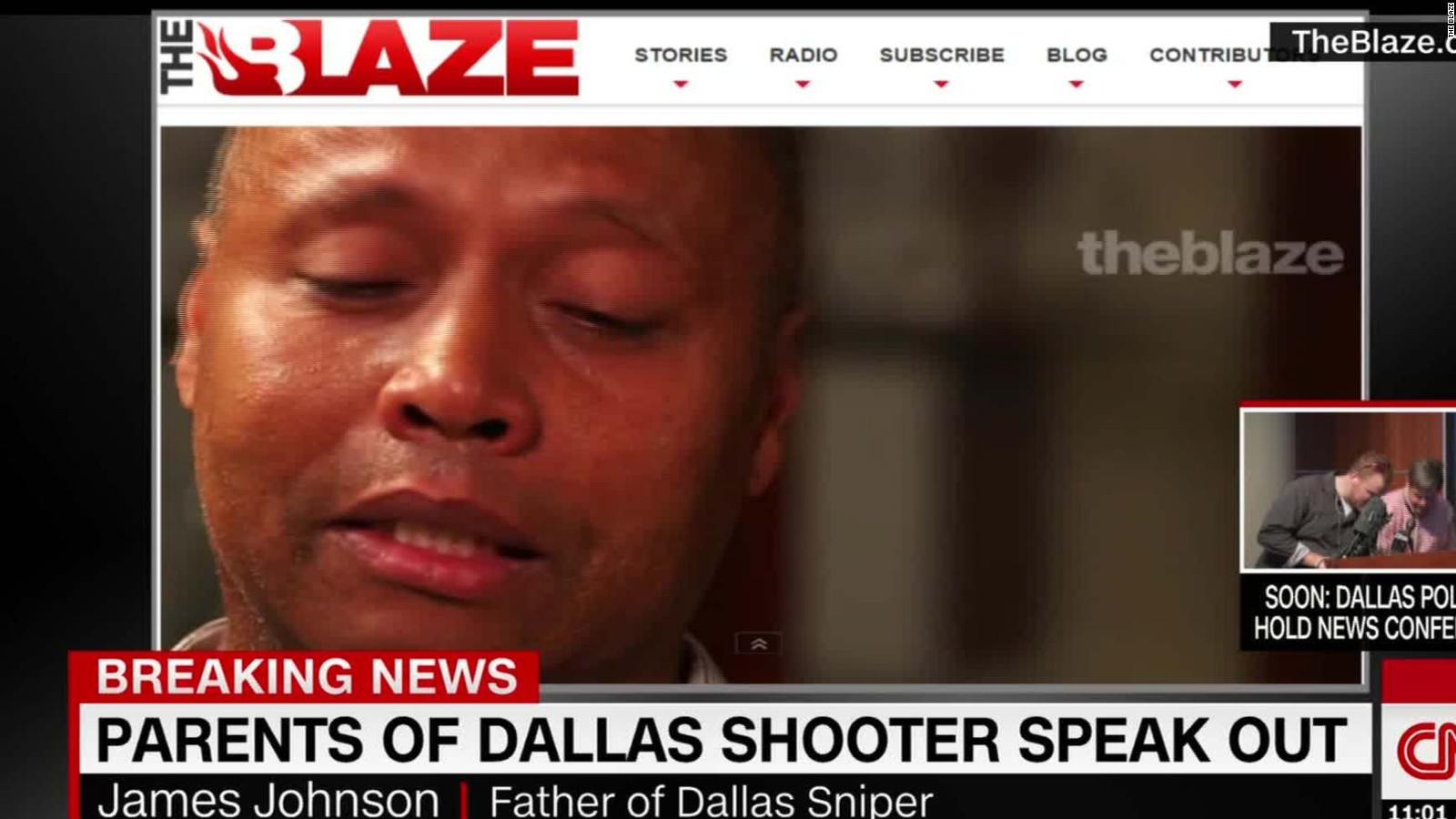 Writing in blood, threats of bombs: Latest on Dallas investigation