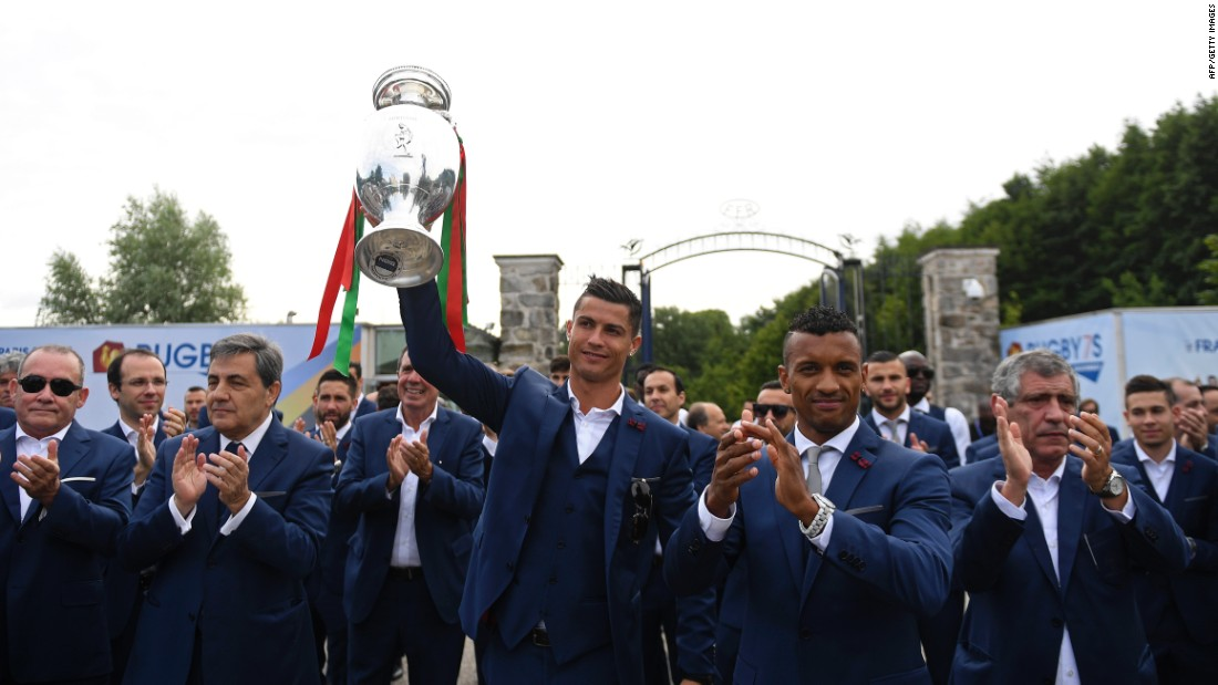 "Many had said it would be Cristiano Ronaldo's <a href=""http://edition.cnn.com/2016/06/14/football/cristiano-ronaldo-euro-2016-portugal-football/"">last chance</a> of glory on the international stage, but even the captain's injury early in the first half did not curtail Portugal's charge into the history books."