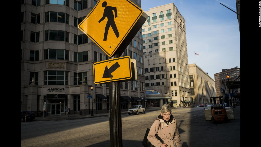 """Webb said he felt a strong connection with downtown Cleveland, where he spent most of his time in the city. """"I find Cleveland kind of intriguing because it has a remarkable backdrop in downtown architecture in the United States, which is a young country,"""" he said. """"The city sort of has an older feel."""""""