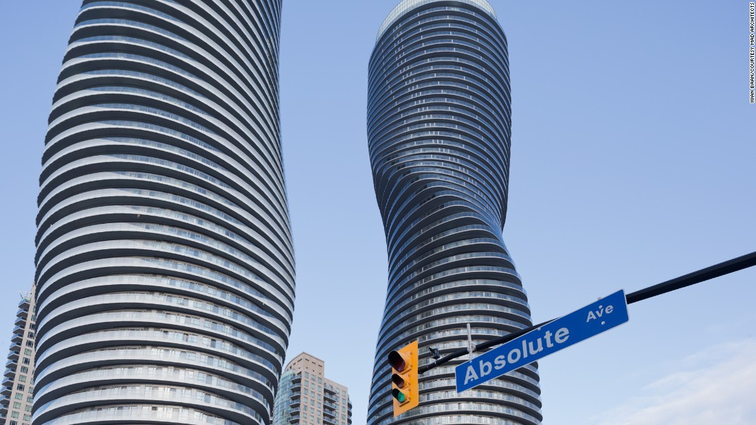 Located at the intersection of two main streets, the Absolute Towers are one of the city's well-known landmarks.