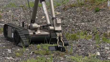How police used a robot bomb to stop shooter
