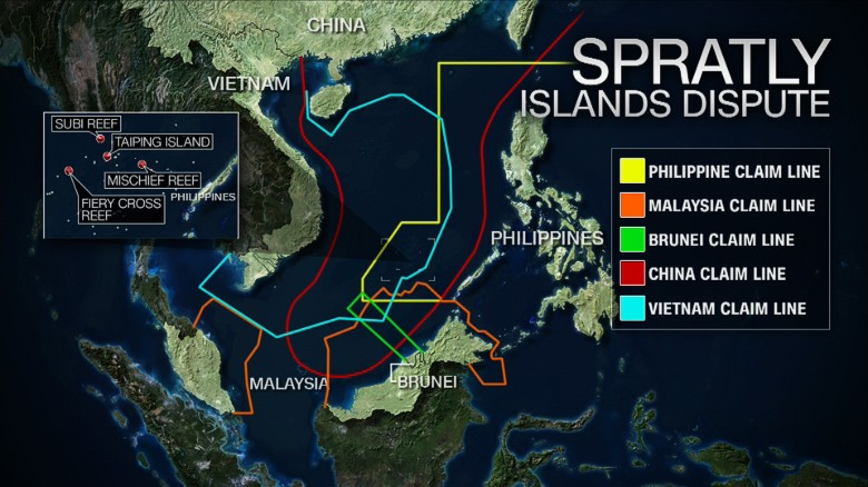 Key ruling over contested claims in the South China Sea