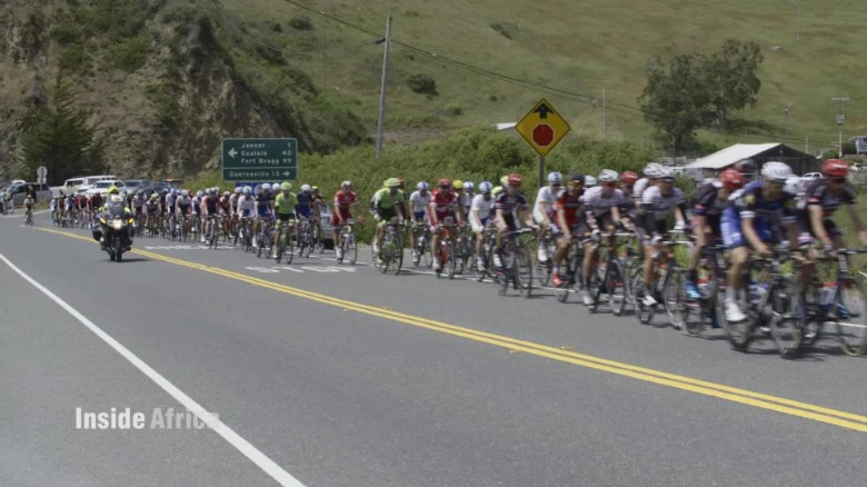 Italy, training ground for top African cyclists