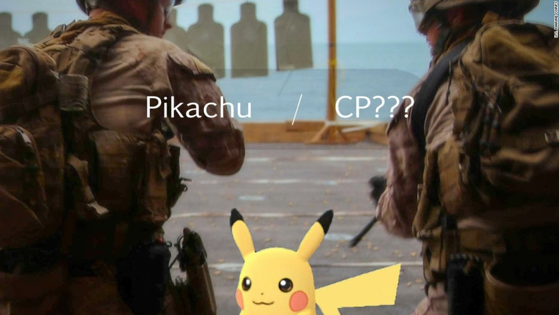 Pokemon Go Helps Marines Catch Suspect