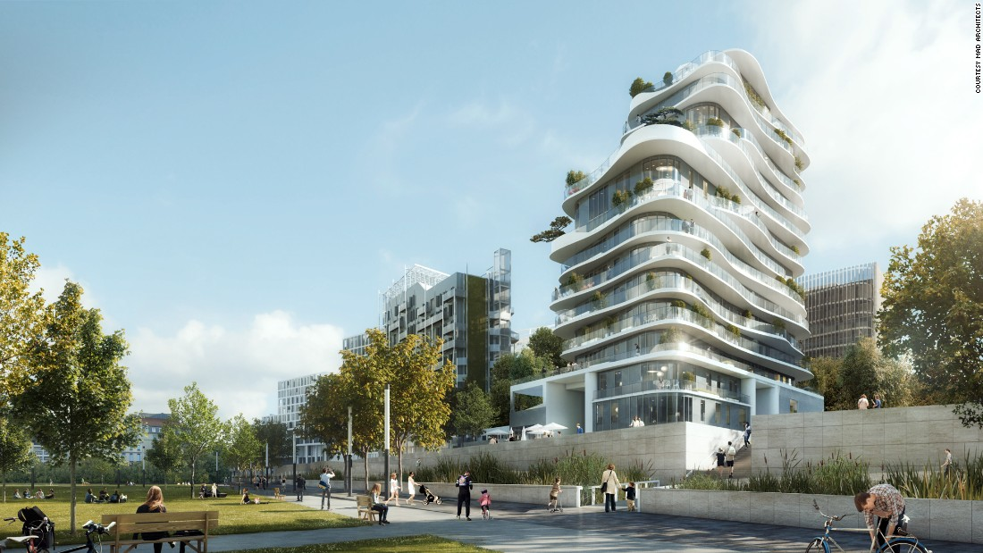 UNIC will be built in collaboration with the French architecture firm Biecher Architectes.