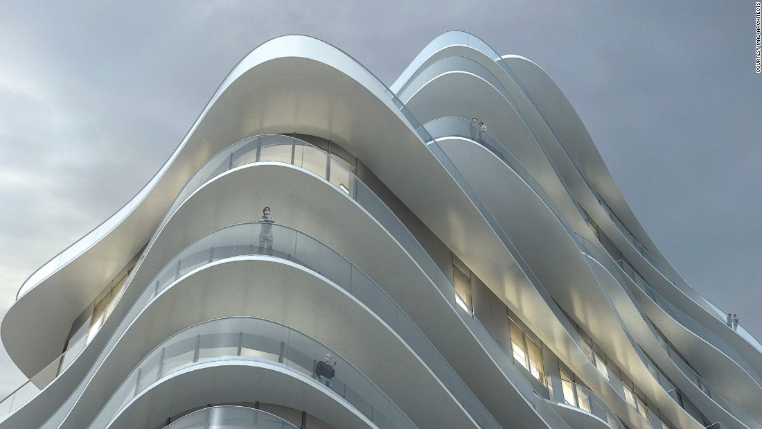 The building is situated in the neighborhood of Clichy-Batignolles and will be 50 meters tall.