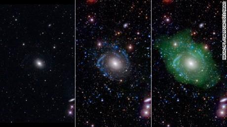 Rare 'Frankenstein' galaxy discovered