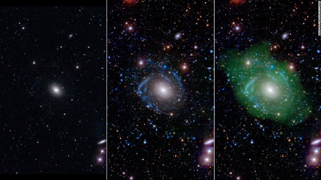 Rare 'Frankenstein' Galaxy Discovered