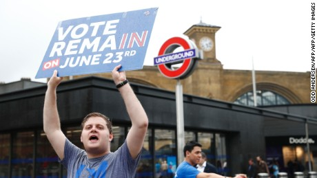 Remain secured 48% of the vote -- not enough to secure victory.