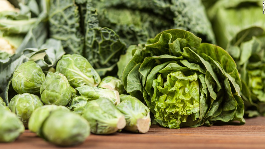 """Leafy vegetables, along with dried beans and peas,<br />are a good food source of folic acid. When pregnant, the <a href=""""https://medlineplus.gov/ency/patientinstructions/000584.htm"""" target=""""_blank"""">National Library of Medicine</a> recommends to get at least two of your daily servings of vegetables from green, leafy veggies."""