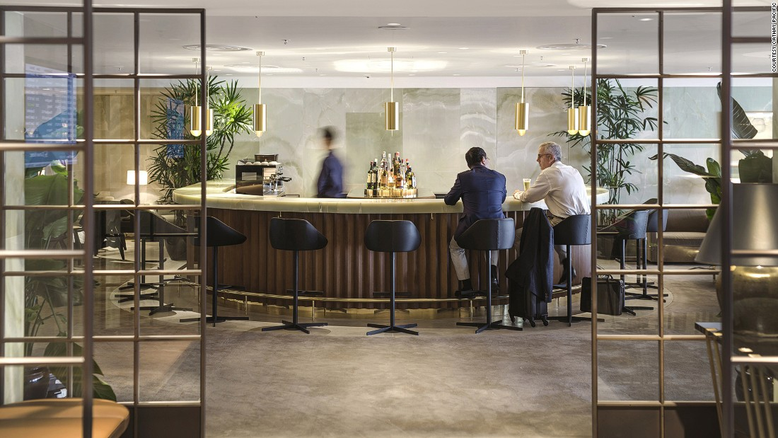 Cathay Pacific comes second to Etihad Airways in the category of world's best first class airlines, but its newly reopened first class lounge The Pier -- with a full-service bar -- came first.
