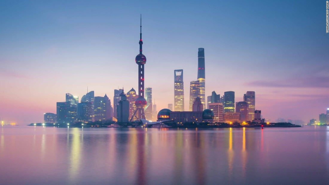 The enormous metropolis of Shanghai -- China's most populous city --  has an historic urban core which sits alongside its status as a contemporary, global financial hub.