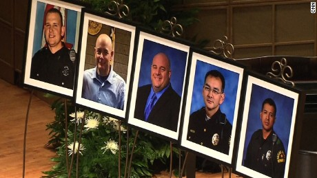 Slain Dallas Officers