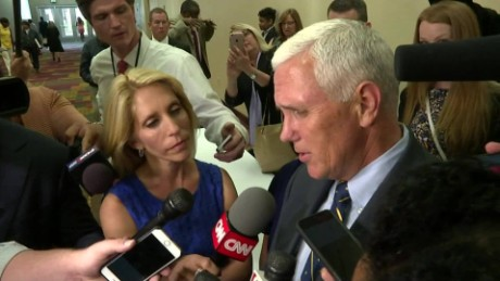 Mike Pence on being considered for Donald Trump's VP
