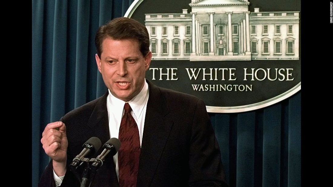 The most recent vice president from the South, Tennessean Al Gore grew up in Washington when his father, Al Gore Sr., was in the Senate. Following military service in Vietnam and a stint in journalism, Gore followed in his father's footsteps to Congress, serving in both the House and the Senate before becoming Bill Clinton's running mate in 1992. Known for losing one of the most contentious presidential elections in modern history in 2000, Gore is now a prominent environmental activist.