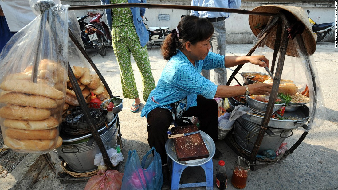 Some of the best banh mi sandwiches, one of Vietnam's most loved exports, can be found on the sidewalk in Ho Chi Minh City.