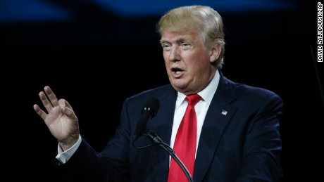 FILE - In this Friday, July 1, 2016 file photo, Republican presidential candidate Donald Trump speaks during the opening session of the Western Conservative Summit, in Denver. Trump has narrowed down his vice presidential shortlist to a handful of contenders. While the presumptive GOP nominee is known for throwing curveballs, he is said to be considering: Newt Gingrich, Chris Christie, Mike Pence, and others. (AP Photo/David Zalubowski, File)