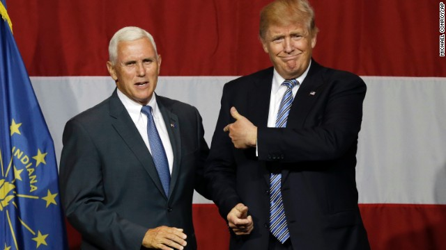 Sources: Signs point to Pence as Trump's VP pick