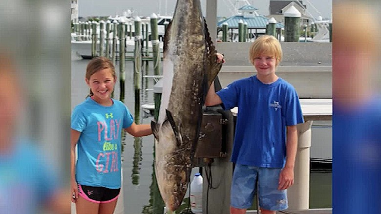 maryland girl catches record breaking fish wmdt pkg duplicate 2 duplicate 2_00001403