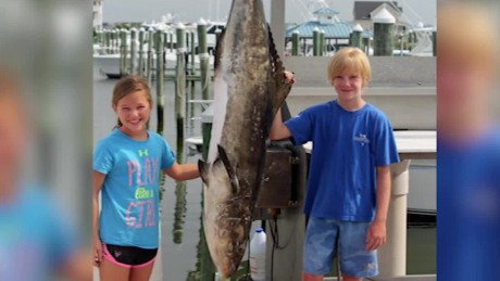 9 year old girl smashes state fishing record for Maryland state fish