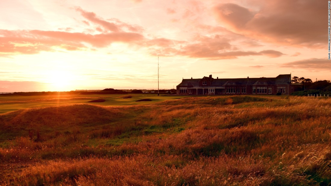 The 145th edition of the British Open starts Thursday at Royal Troon Golf Club. At this time of the year on Scotland's rugged, wind-battered west coast, the sun doesn't set until nearly 10 p.m.