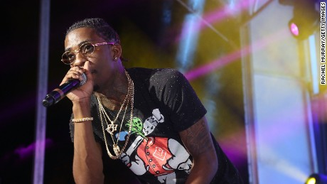 Rich Homie Quan performs onstage during the PANDORA Discovery Den SXSW on March 19, 2015 in Austin, Texas.
