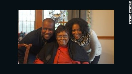Marisa Lee, her father and her grandmother.