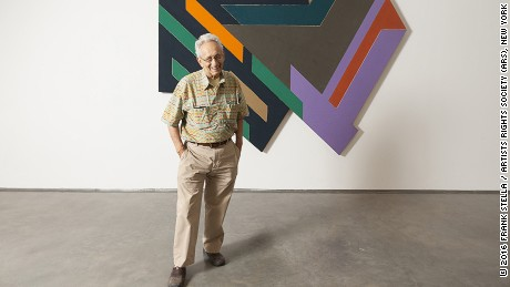 Portrait of Frank Stella Photo: Kristine Larsen Frank Stella Bogoria IV, 1971 Mixed media on board 228.6 x 279.4 x 12.7 cm 90 x 110 x 5 inches © 2016 Frank Stella / Artists Rights Society (ARS), New York