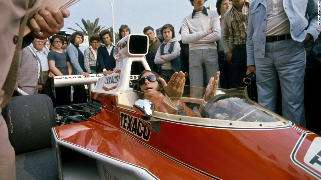In 1974 Emerson Fittipaldi won the Formula One World Drivers' Championship driving for McLaren.