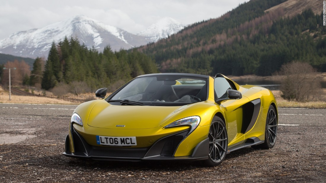 The limited edition McLaren 675LT Spider is the lightest, most driver-focused, and most exclusive series-production McLaren supercar ever built.