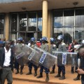 Zimbabwe protest police