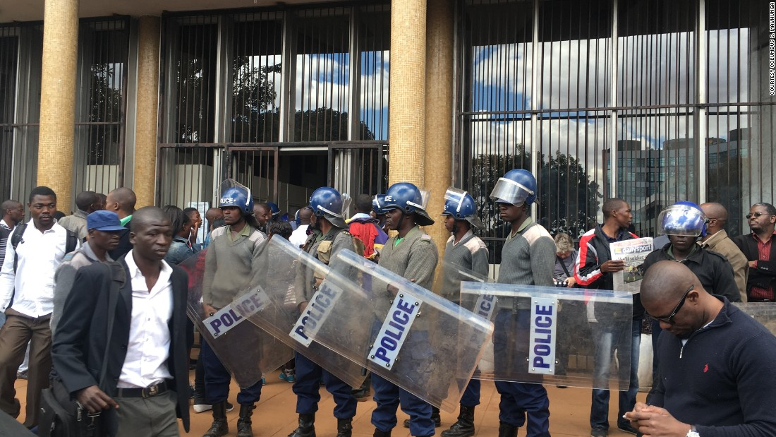 """The pastor has since been freed. A court in Zimbabwe late Wednesday ordered his release, he had been slapped with charges of trying to """"overthrow the government by unconstitutional means."""""""