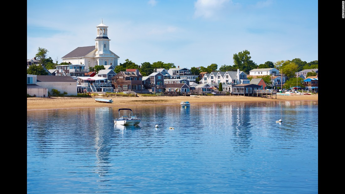 Provincetown, Massachusetts, is home to nearly 300 LGBT-owned businesses. Located on the northern tip of Cape Cod, the town is surrounded by Cape Cod National Seashore.