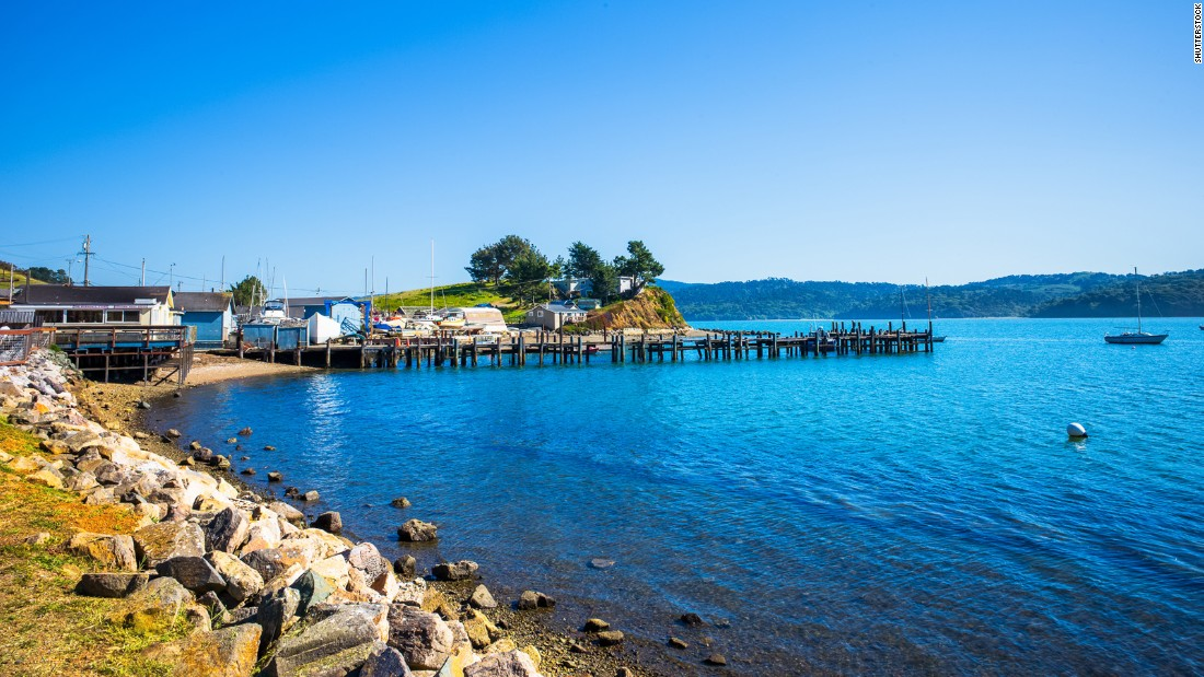 Tiny Marshall, California, sits on Tomales Bay in Marin County. The area is home to nearly half the state's shellfish growers, and oysters are what lure visitors to the bay front to shuck and slurp.