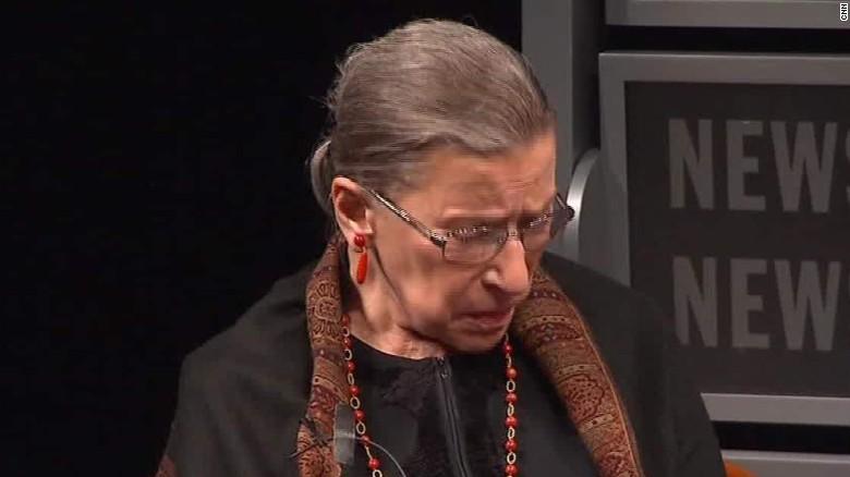 Ruth Bader Ginsburg apologizes Donald Trump nr_00011612