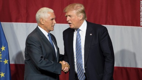 Pence is Trump's VP pick