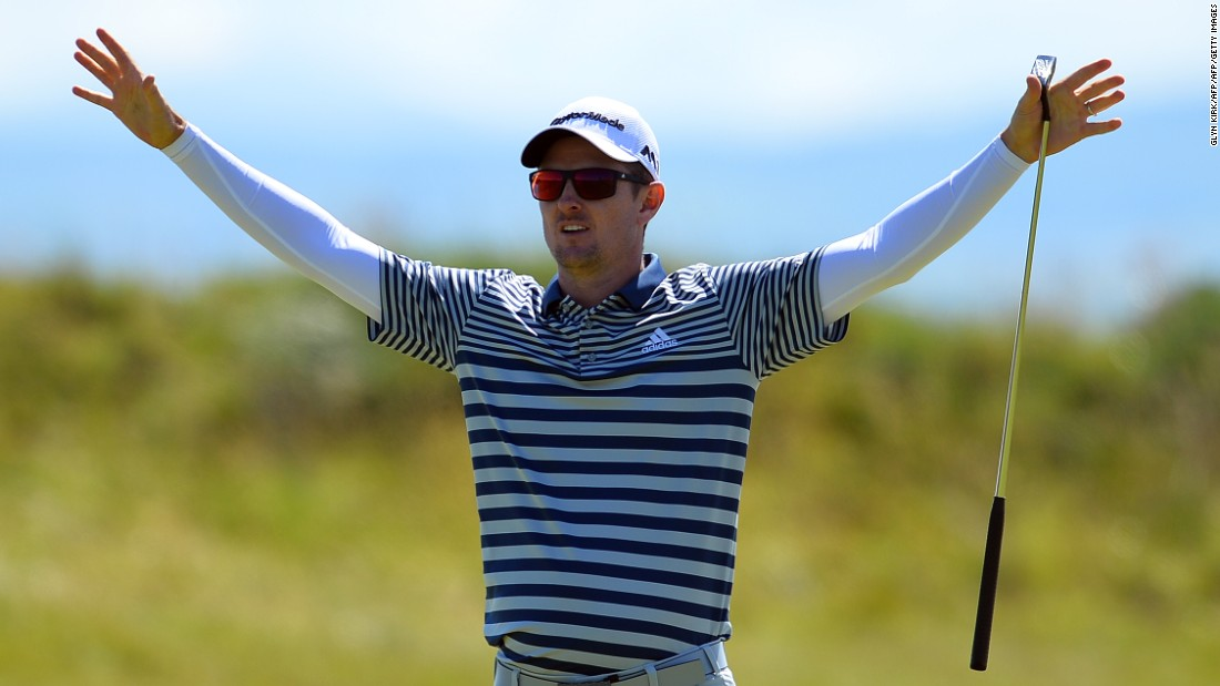 Justin Rose had a far happier time in the Scottish sunshine. With the notorious Royal Troon back nine proving tricky in the prevailing northwesterly winds, the Englishman notched consecutive birdies on the 15th and 16th, leaving him three under for the day, tied for 12th.