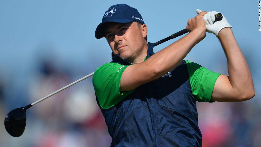 Last year Jordan Spieth was a contender on the final day but missed out on a third successive major title. This time the world No. 3 has plenty of work to do after a par 71 left him eight behind Mickelson, and tied with U.S. Open champ Dustin Johnson.